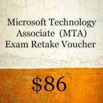 MTA Exam Voucher + Retake