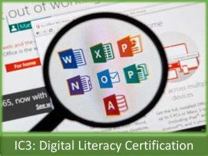 IC3 Digital Literacy Certification