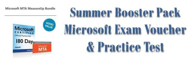 Microsoft Exam Voucher & Practice Test